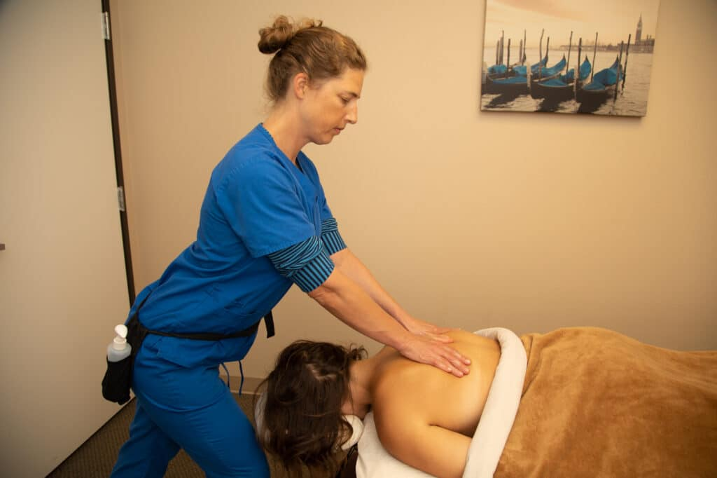 massage therapy after car accident